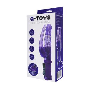 Вибратор 2в1 женский A-TOYS 765008 Vibrator