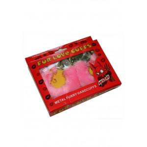 Наручники Розовые