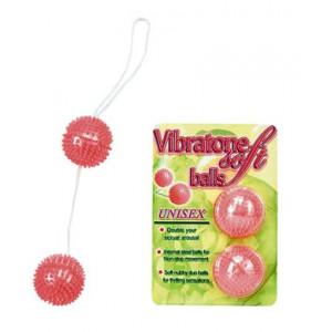 Вагинальные шарики Pink Duoballs Soft