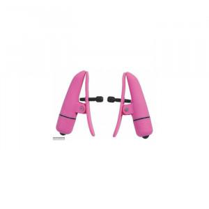 Вибрационные зажимы на соски Nipplettes pink