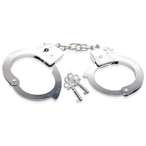 Металлические наручники в стиле БДСМ Metal Hand Cuff S