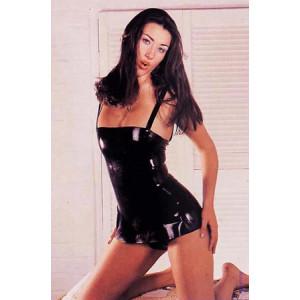Латексное платье Latex Dress Black Medium