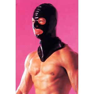 Маска Latex Hangman`s Mask Black One Size