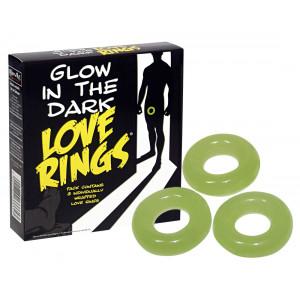 Эрекционное кольцо Love Ring Glow in the Dark