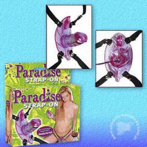Клиторный стимулятор Paradise Strap-on