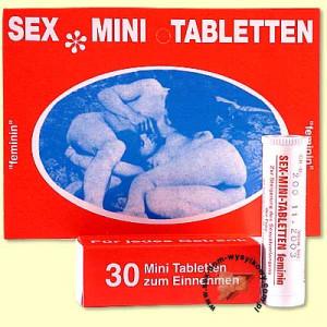 Шипучие таблетки женский возбудитель Sex Minitabletten 30 шт