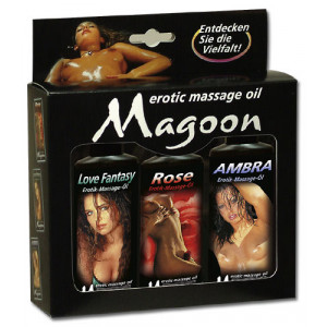 Массажные масла 3er Set Massage 100 мл