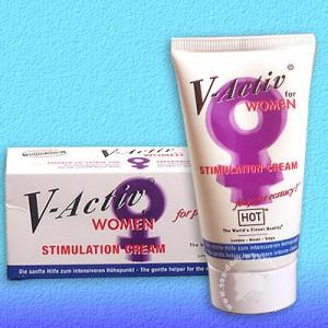 Женский вагинальный крем для секса V-Activ Stimulation Cream 50 мг