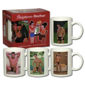 Чашка с мужчиной «Stripbecher Boy»