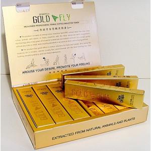 Возбуждающие капли для женщин Золотая Шпанская Мушка Gold Fly